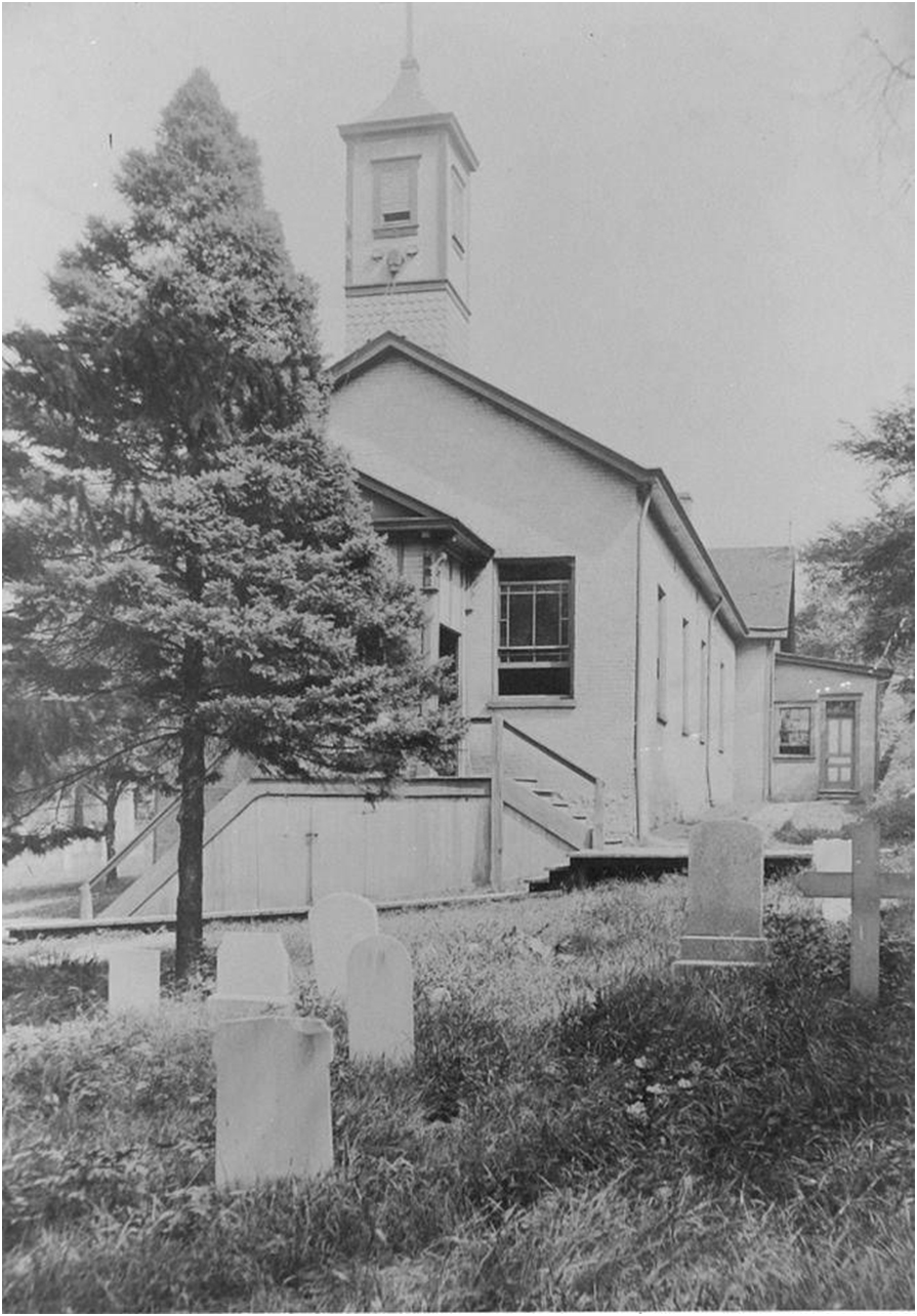 The First St. Philip Church 1839-1906
